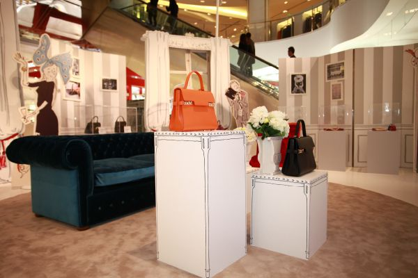 The world of Madame Delvaux presented in a temporary store at Galeries Lafayette Beijing
