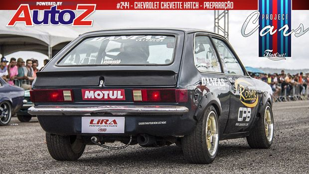 Project Cars #244: novos upgrades no motor 2.0 e mais uma arrancada com meu Chevette Hatch