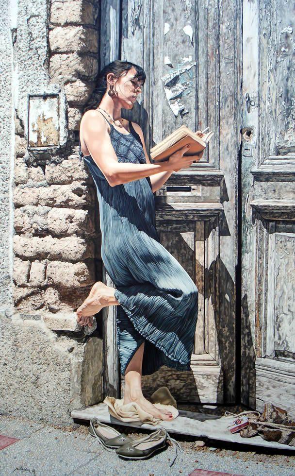 Mauro Cano, pinturas hiperrealistas, #pintor #hiperrealista, arte hiperrealista,