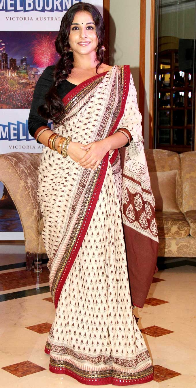 Vidya Balan promotes Indian Film Festival of Melbourne #Bollywood #Fashion #Style