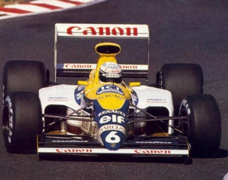 1989 Riccardo Patrese Williams FW13 - Renault Suzuka