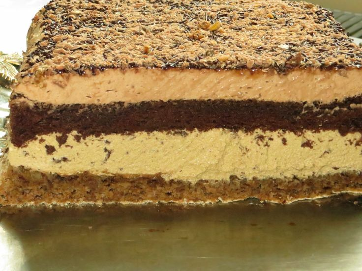 Domowe ciasta i obiady: Ciasto Cappuccino orzechowe