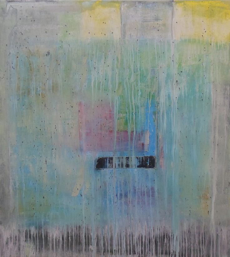 colore 2014 | mixed media | markise 128 x 115 cm