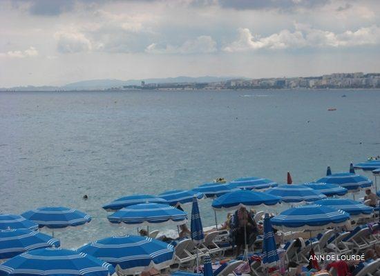 La Baie des Anges, Summer 2010, Nice, France.