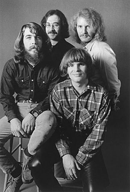 "CCR (Credence Clearwater Revival) - John Fogerty, Stu Cook, Douglas Ray ""Cosmo"" Clifford, Tom Fogerty (11/09/1941 - 09/06/1990)"