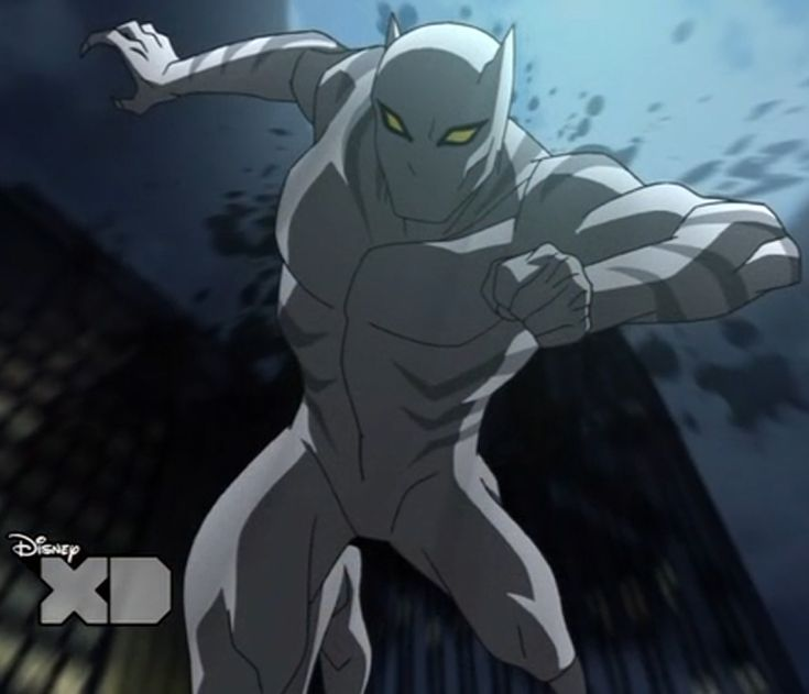 Black Panther Superhero | White Tiger appears in ...