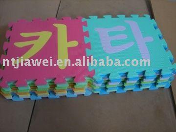 Korean Puzzle Mat, EVA Toy, Puzzles,EVA mat,EVA foam mat,EVA floor mat