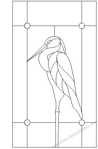 stained glass kits pattern