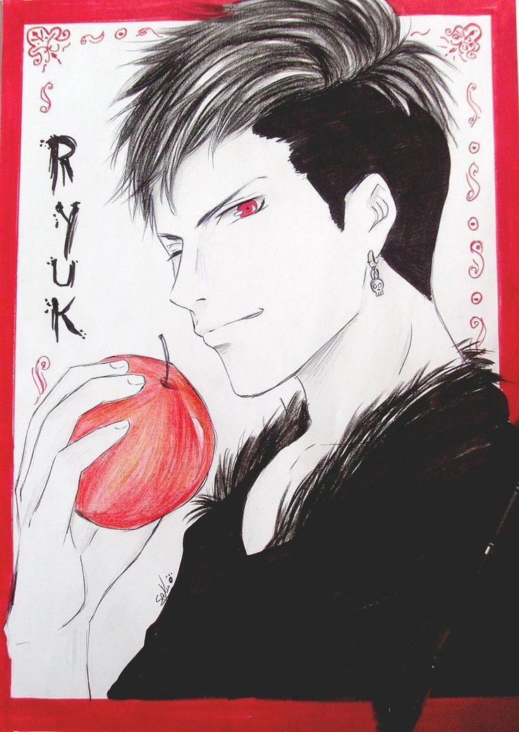 Ryuk (human version) by sakurastreetfighter [DeviantArt