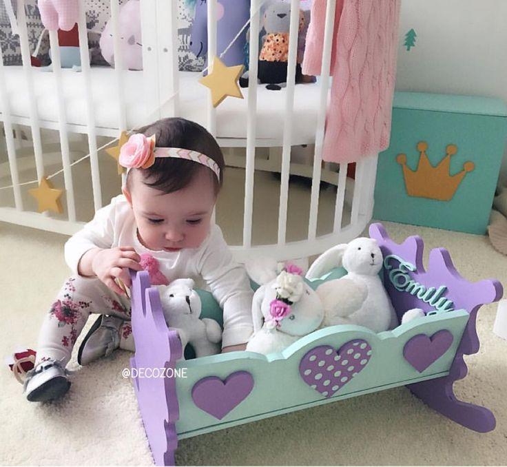 Купить Кроватка для кукол - для детей, для девочки, кроватка, кроватка для…