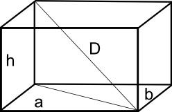 Parallelepipedo: formule e proprietà sul parallelepipedo rettangolo.