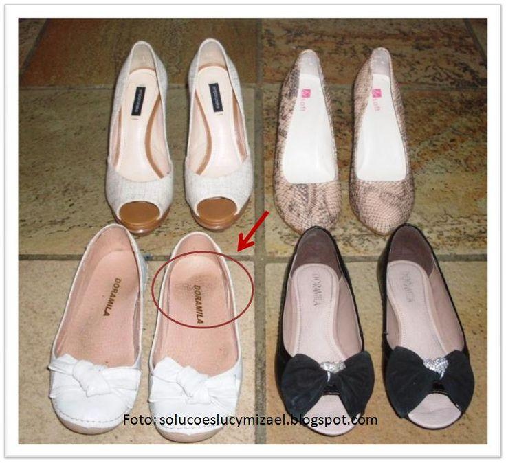 Sapatos - cuidados