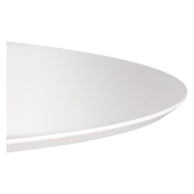 LANCE 4 seater white round dining table | Buy now at Habitat UK