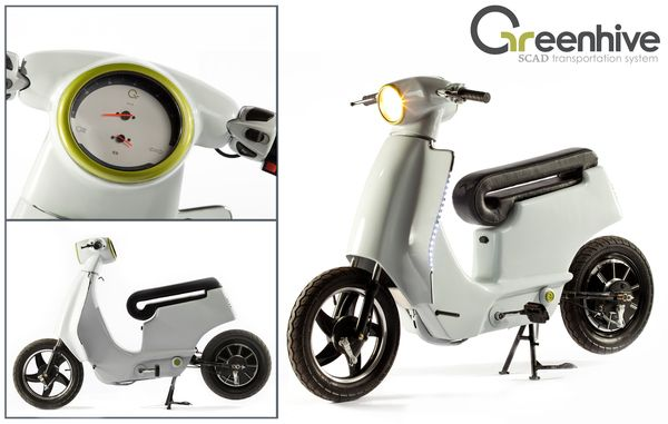 Greenhive: SCAD Transportation System by Cesar Idrobo