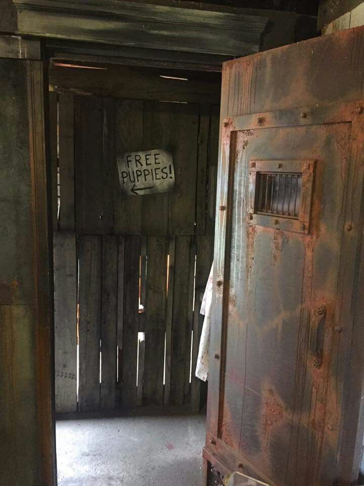 2737 best ideas about haunted house diy props set for Diy haunted house walls