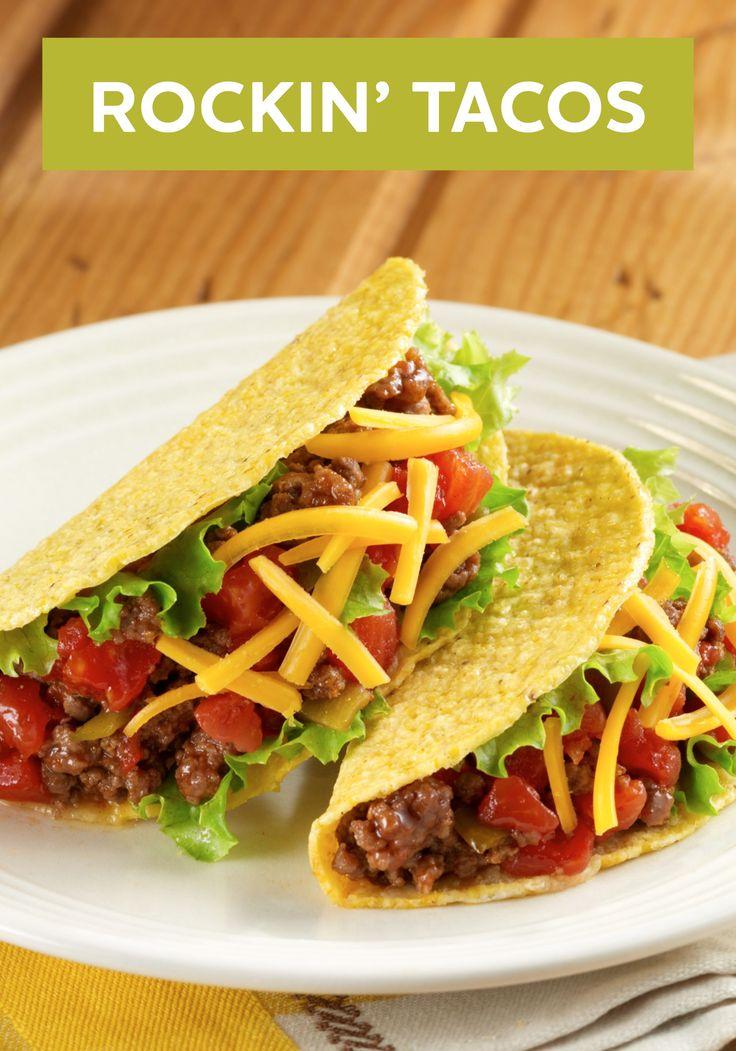 Rockin Tacos Recipe Mexican Inspired Recipes Tacos
