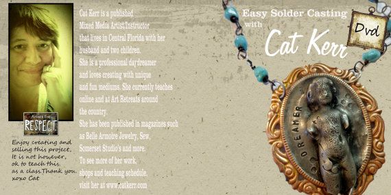 Easy Solder Casting Online Workshop now on DVD by catcreations92a, $90.00