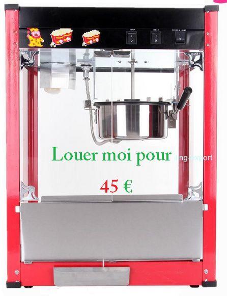 MACHINE A POP-CORN ELECTRIQUE PRO  NEUVE. Louer MACHINE A POP-CORN La Chaise-Dieu (43160)