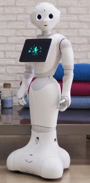Producent Aldebaran Robotics creëerde ook Pepper. Deze robot oogt wat minder 'cute', omdat ze geen benen heeft, maar het is natuurlijk een prachtige uitvinding!