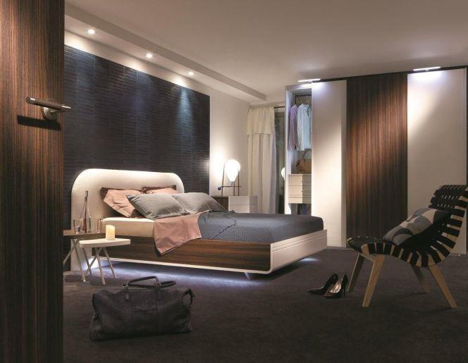 Chambre à coucher Murano dans les tons gris http://www.m-habitat.fr/notre-selection-de-chambres-a-coucher-haut-de-gamme-7_R