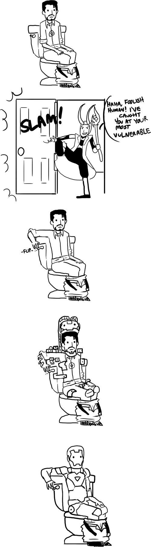 Tony Stark, un ejemplo a seguir de cómo estar preparados en la vida.