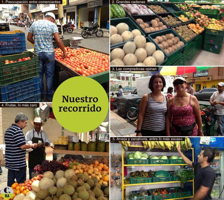 Frutas y verduras que cuestan más del doble preocupan a los ciudadanos. Los consumidores finales empiezan a hacer cuentas por el paro agrario.