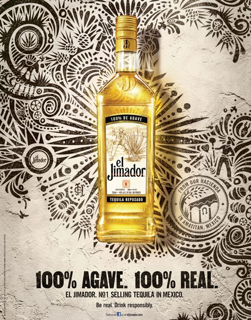 TEQUILA EL JIMADOR / Real Good Tequila Campaign by Claudio Limon, via Behance