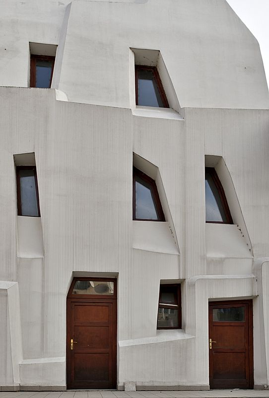 Fantastical Organic Architecture of Hungary's Imre Makovecz > Theater, side wall
