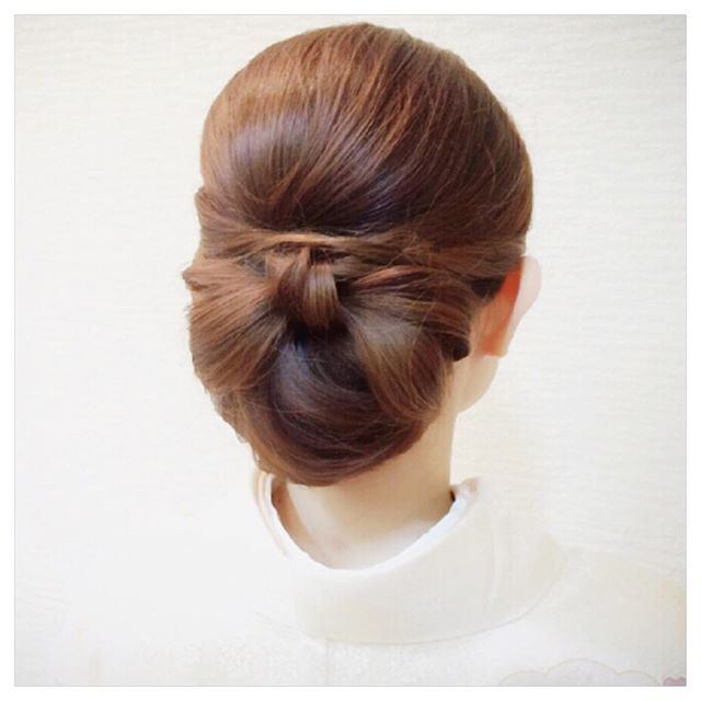 #mulpix ・ 上品×可愛らしさ♡ ・ どちらも入ってるスタイル(^^) ・ ・ #ヘアセット #ヘアアレンジ #和装 #ヘアスタイル #アップ #hair #hairset #hairarrange #ヘアメイク #リボン #ウェディング #セットサロン #和髪 #着物 #銀座