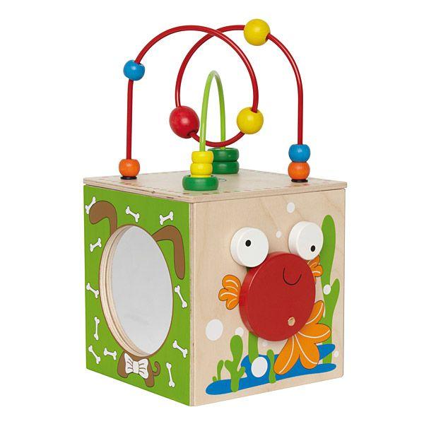 Zabawka pudełko małego odkrywcy #labirynt #moje bambino #mała motoryka #motor skills  http://www.mojebambino.pl/labirynty-manipulacyjne/1598-pudelko-malego-odkrywcy.html