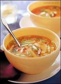 Autentická polévka z Pekingu