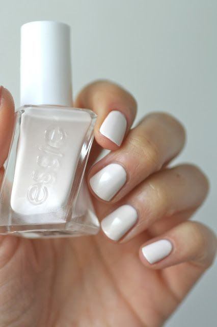 Essie pre shown jitters-This polish is the bomb!  The colors are beautiful and truly goes on perfect with two coats and last  a long time and removal-so easy!  I thought I was going to have to soak my nails in polish remover and wrap them in foil!  Worth the price!
