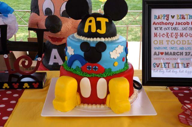 Mickey Mouse Birthday Ideas!