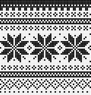 Norwegian pattern: Selbu