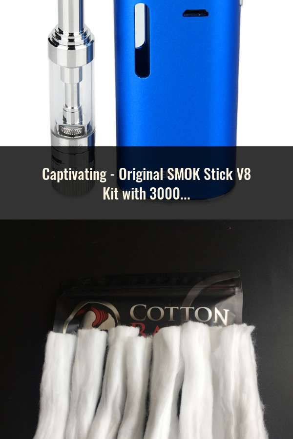 Original SMOK Stick V8 Kit with 3000mAh Battery & 5ml TFV8