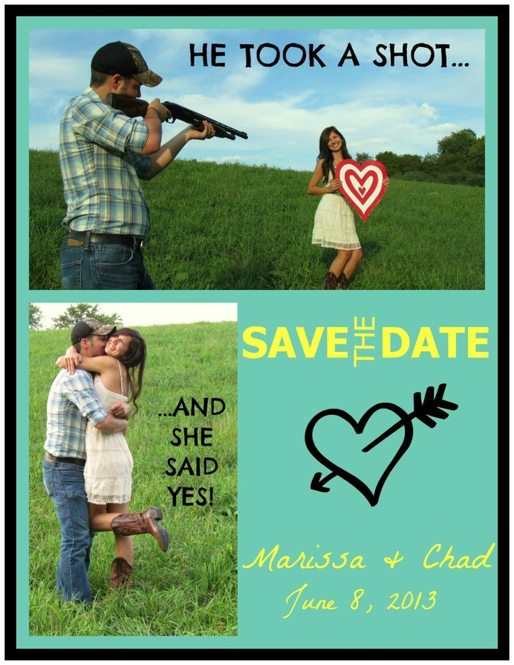 thought i should share my super cute sis and future bro-in-law ;)  diy country save the date...created on vistaprint.com