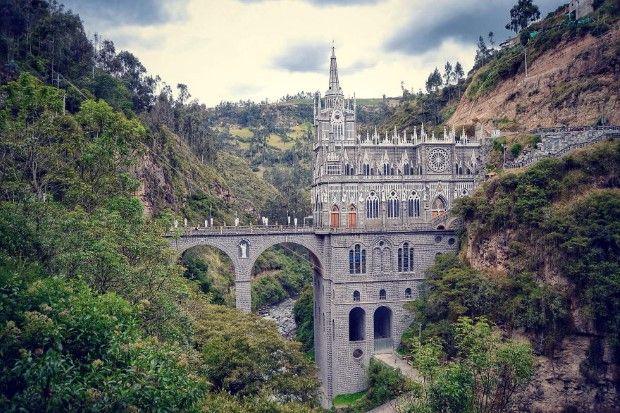 13. Las Lajas Sanctuary, Kolumbia