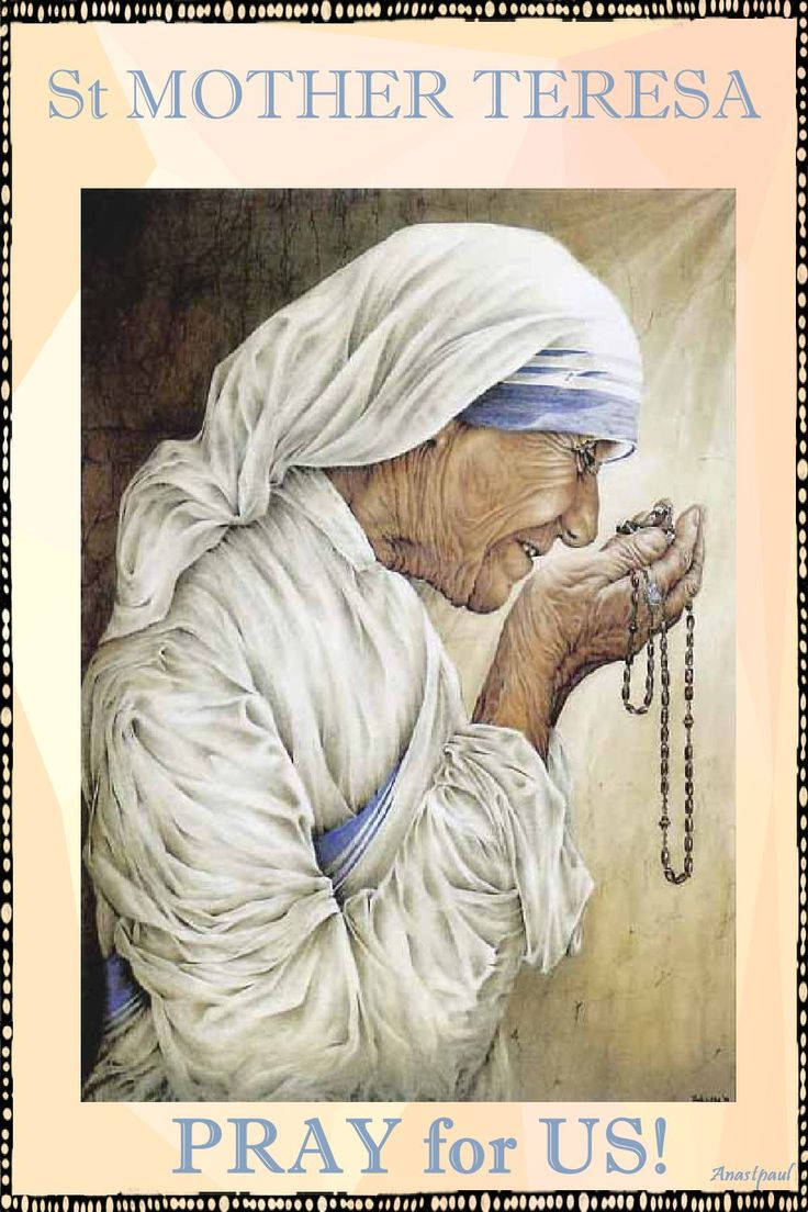 PRAYER – Heavenly Father, help me to be holy in the way that You have laid out for me. Let me carry out the duties of my state in life to the full and so attain the holiness proper to me. St Mother Teresa please pray for us that we may all use the gifts we have been given for the Glory of God. Amen#mypic