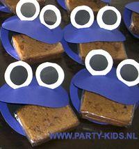 traktaties - koekiemonster met ontbijtkoek