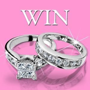 Win a 1 Carat Diamond Bridal Wedding Set Retail Value $2,250!