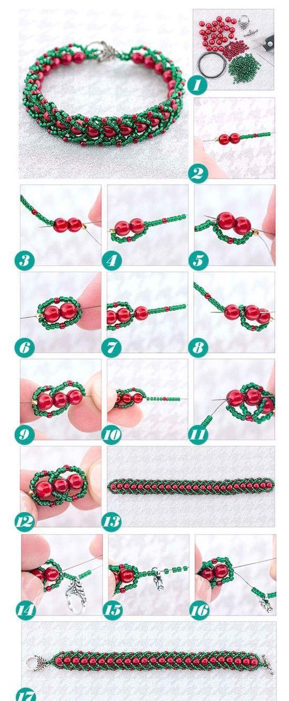 Christmas Bracelet Inspiration Project