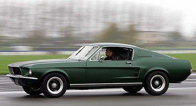 "Steve McQueen – 1968 Ford Mustang GT 390 from ""Bullitt"", 1968"