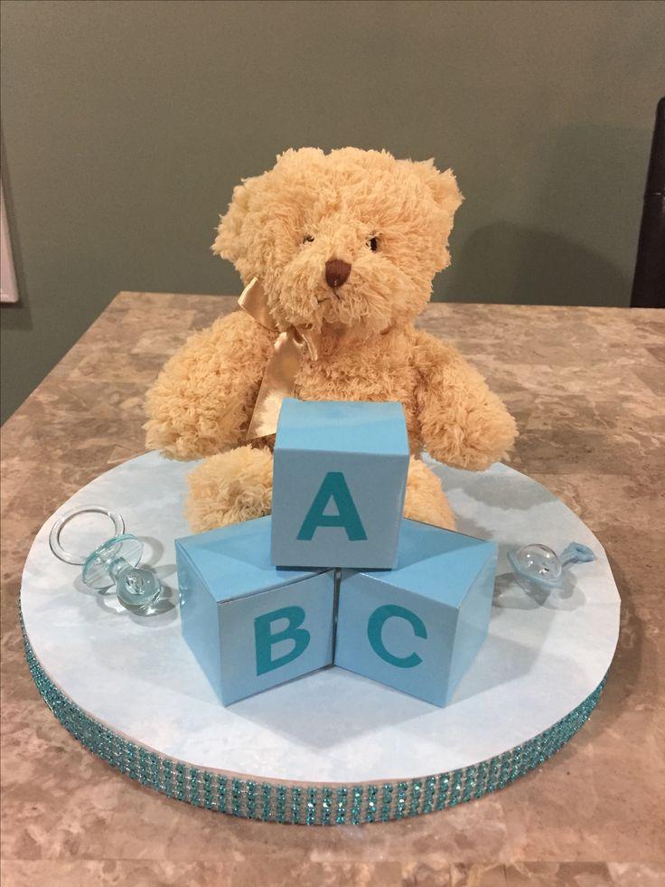 teddy bear centerpieces boy shower bff teddy bears baby ideas ideas