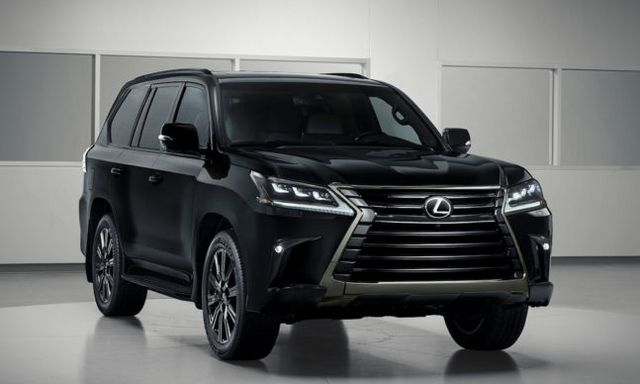 Lexus Latest Models >> The Latest Lexus Inspiration Model Is An All Black Lx Suv