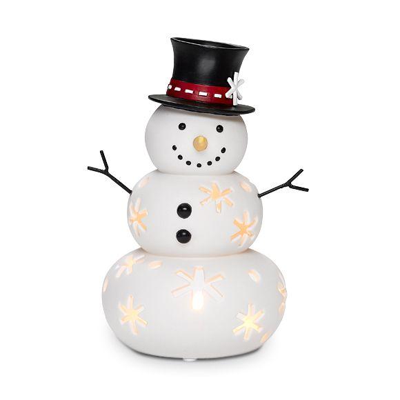 Mr Snow Tealight Holder