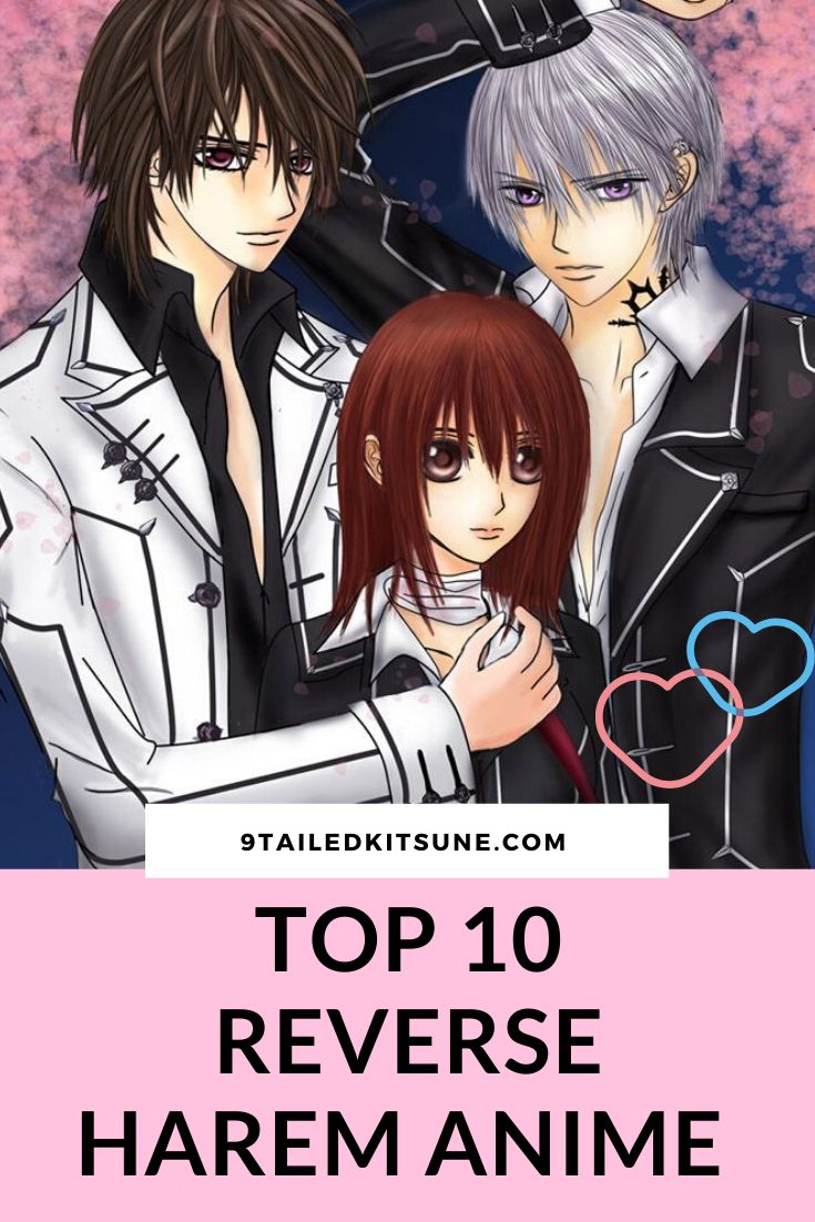 The List of 10 Best Reverse Harem Anime to Watch in 2020