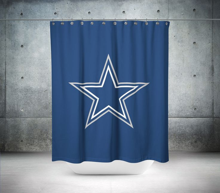 Charming One Of A Kind Shower Curtains Part - 10: Our Beautiful NFL Shower Curtains Really Are One Of A Kind. To Get The Most  Bang For Your Buck, Start With An Artistic, Invent