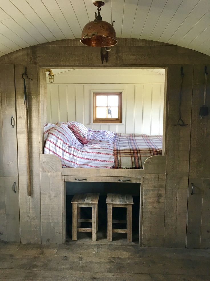 Built to a traditional design but with a few more home comforts than a bygone shepherd would have known