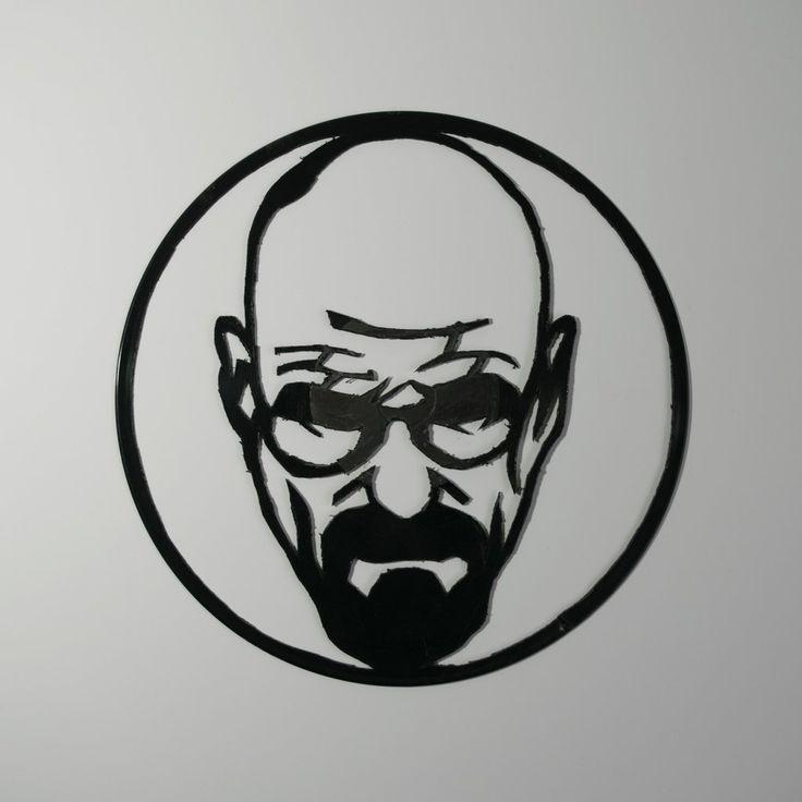 Heisenberg Vinyl Wall Decoration