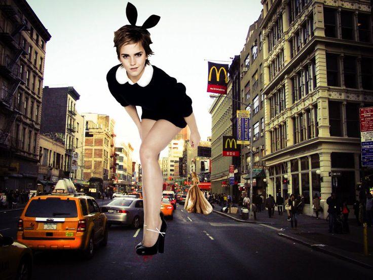 Giantess Emma Watson Crush by gts47 on DeviantArt